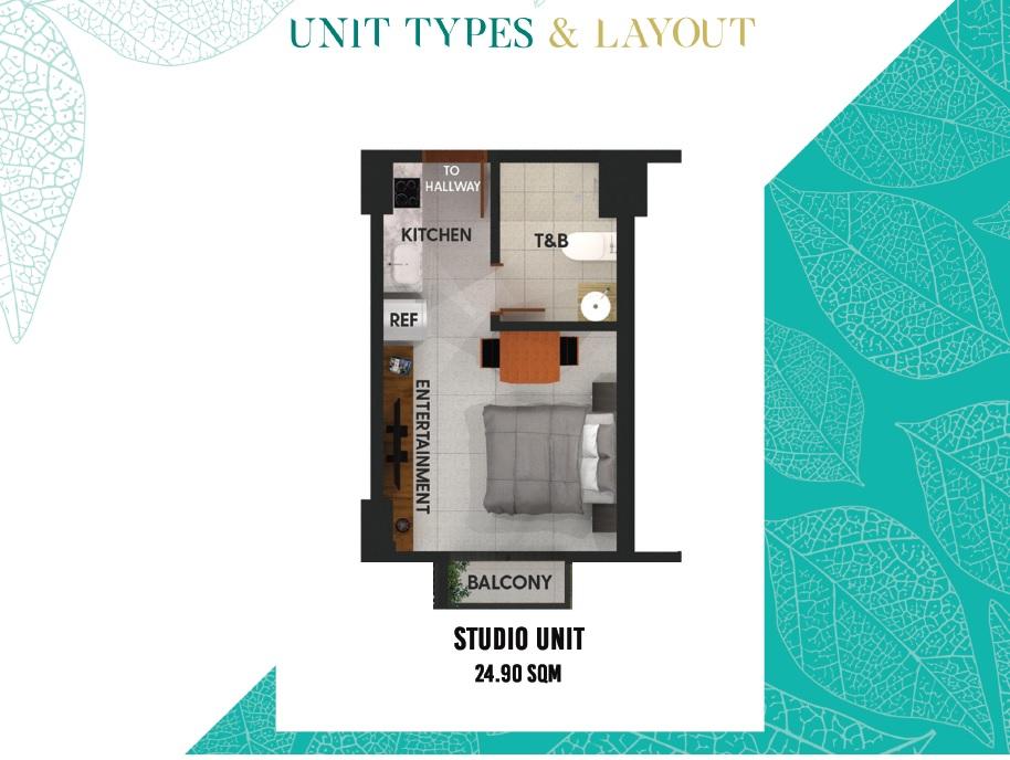 Studio Unit A 24.9sqm